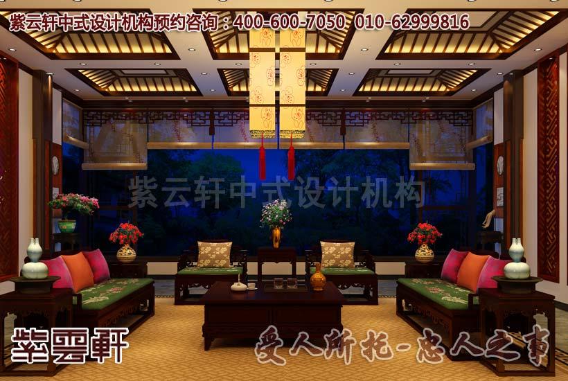 古典中式风格别墅装修效果图 方显中国风之美