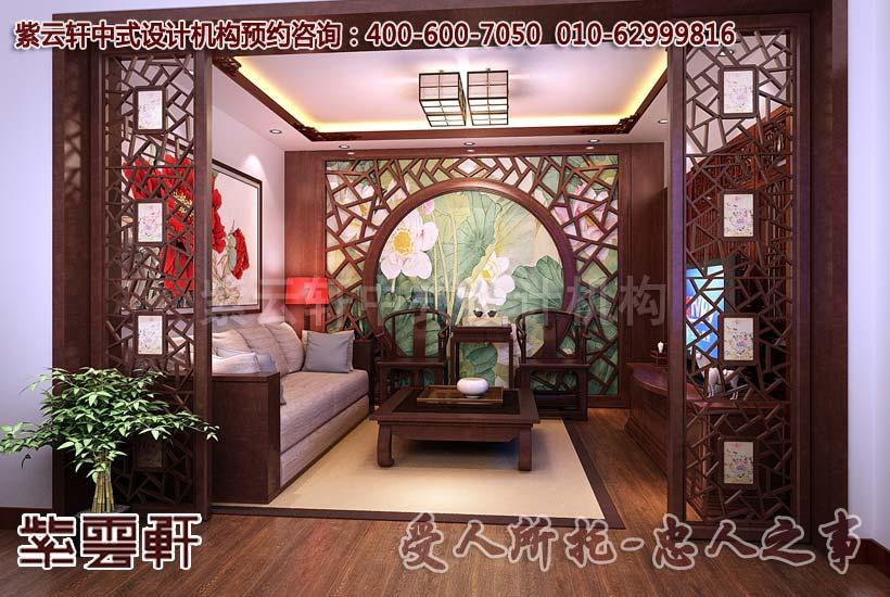雅致而不俗 古典中式别墅装修风格效果图