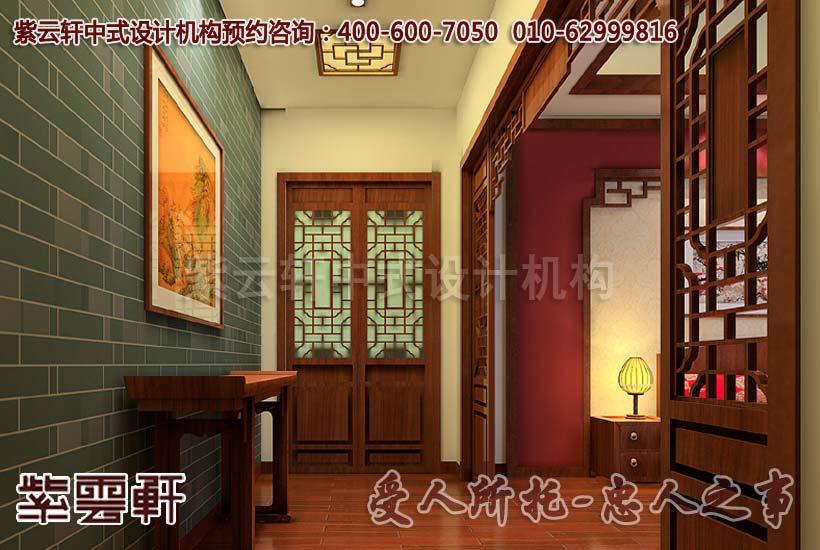 仿佛时光流回到远古—姑苏古典中式别墅装修_紫云轩中式装修设计机构