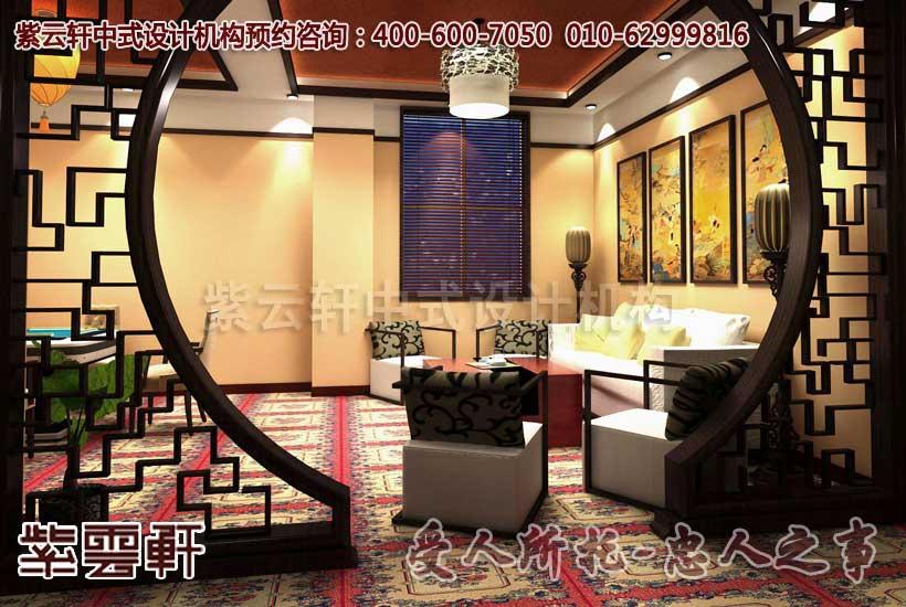 新古典茶餐厅中式装修设计-打造祥和典雅的完美空间