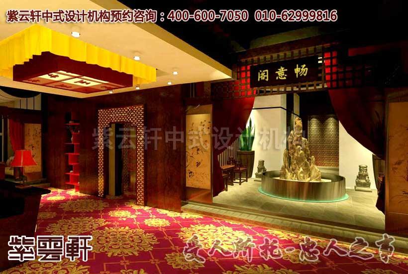 新茶餐厅中式设计之门头