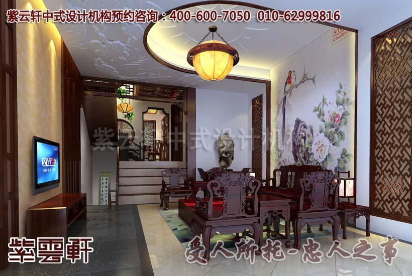 文化意蕴的传承 别墅装修简约古典中式风格案例