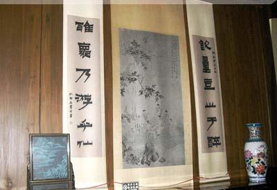 专家:中国字画的悬挂方式