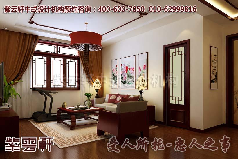 中式装修风格的高度凝练和造型的极度精简,在质朴中透露出华丽