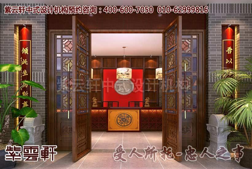 中式配饰在温馨的光影下,营造出优雅的古典意境