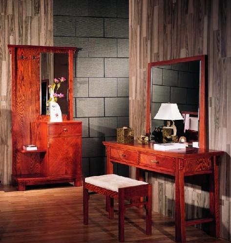 中式古典家具图片; 新中式风格实木家具未必全实木