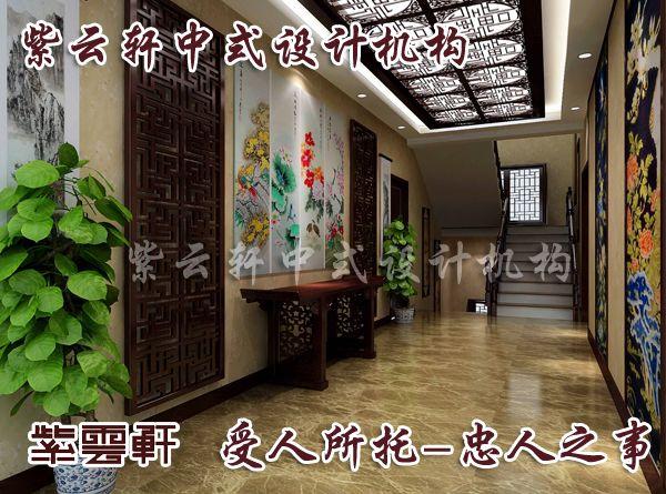 装修楼梯间效果图; 中式装修效果图; 中式装修,会所酒店中式风格设计