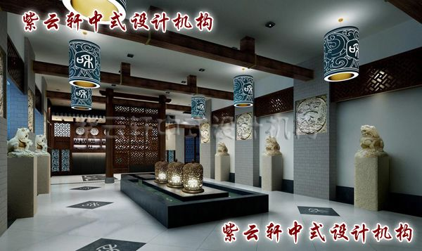 中式茶楼装修设计