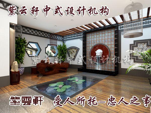 庭院本怡人的中式别墅庭院_紫云轩中式装修设计机构