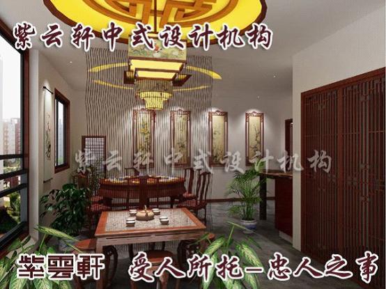 中式餐厅卫生间手绘