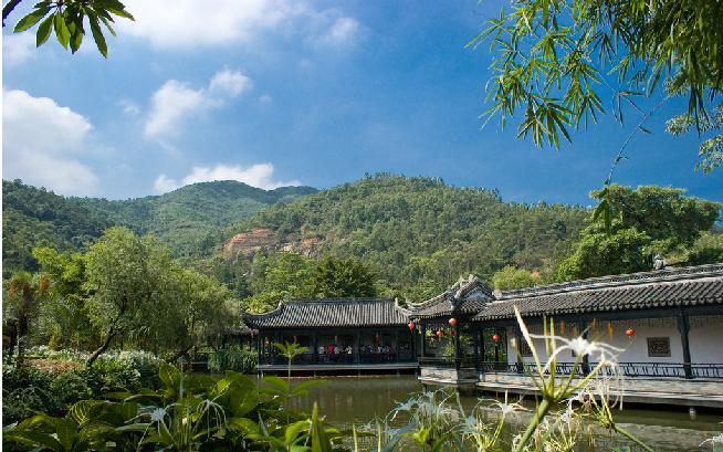山,水,植物乃是构成自然风景的基本要素,当然也是风景式园林的构景