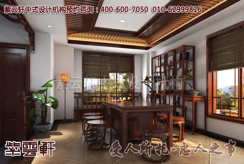 中式古典别墅精美设计引领中华传统民俗风尚图片