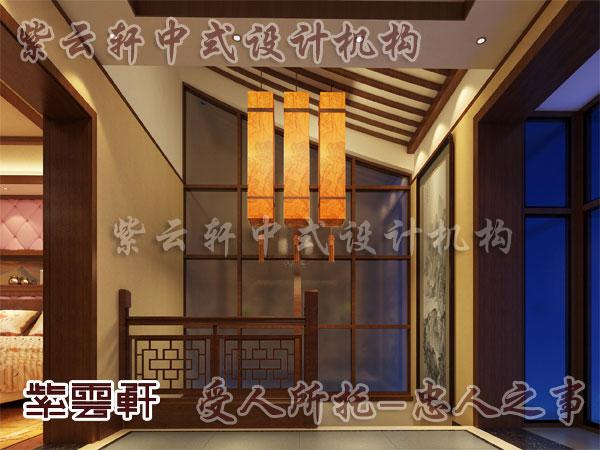 楼梯间中式装修效果图大全2013图片-紫云轩中; 中式楼梯间装修4; 紫云