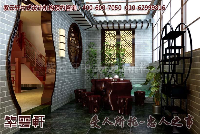 中式庭院效果图