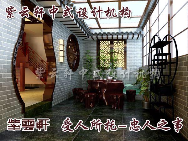 中式风格装饰设计呈现独特韵味;; 中式阳台效果图; 中式家装设计在