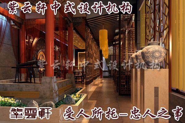 中式茶楼装修在店面设计中营造出的情境