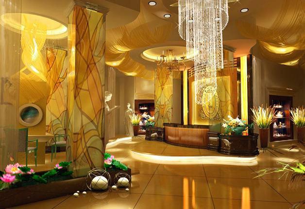 中式风格美容院店面装修的魅惑体现高清图片