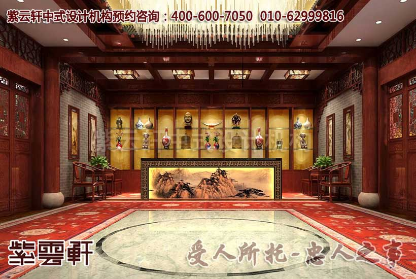 中式古典文化会馆——在宫殿之中追寻传统文化的余音图片