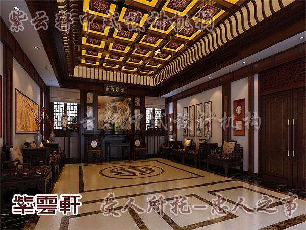 中式客廳效果圖