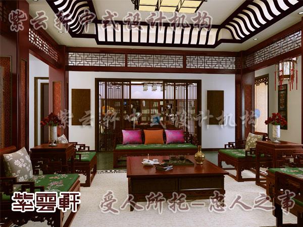 中式风格装修展现出层出不穷的美丽