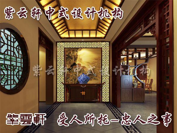 中式玄关大象木雕图片大全