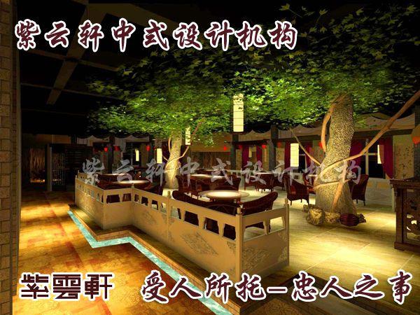 中式简约装修——丰富了茶楼的景观内涵