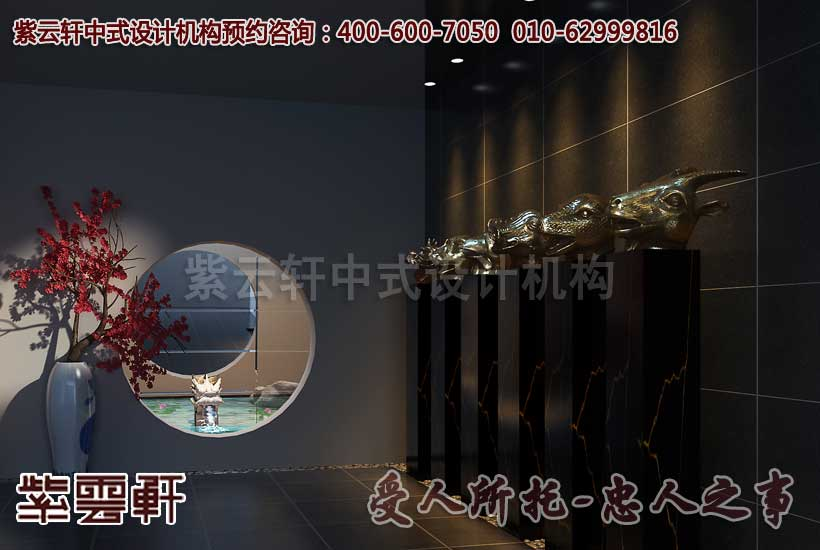 新中式古典设计效果图