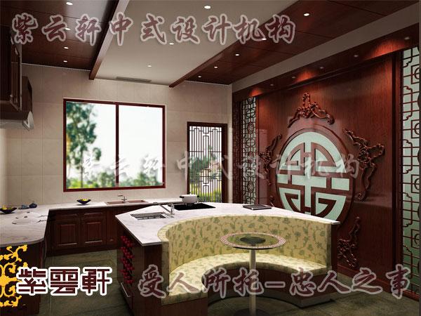 传统家居 古典厨房难装修 中式古典餐厅6