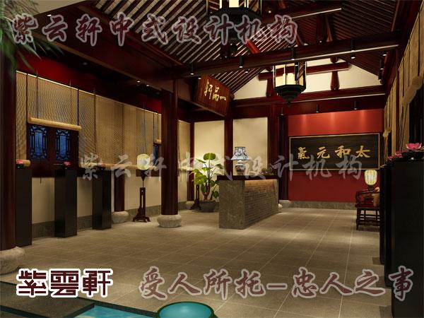 中式家装设计别墅谱写着一段明艳优美词章