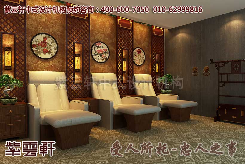 中医馆古典设计装修 公装养生场所的中式典范图片
