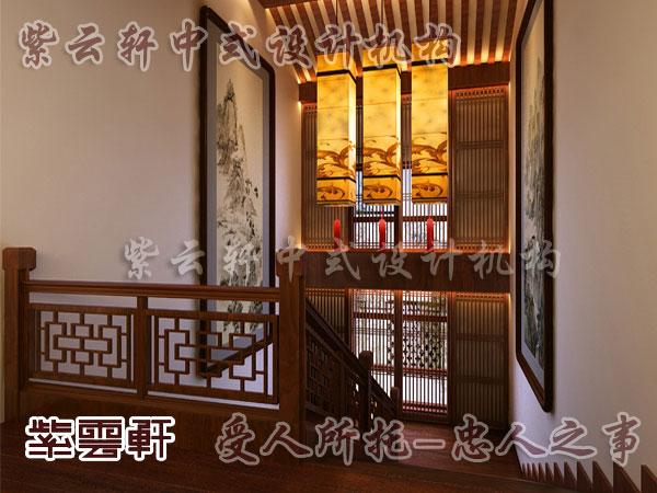 中式别墅装修地暖供热的系统采暖设备配套