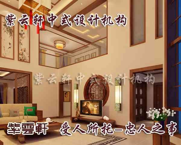中式别墅装修设计楼梯个性韵律飞扬新颖