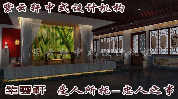 中式装修走廊效果图