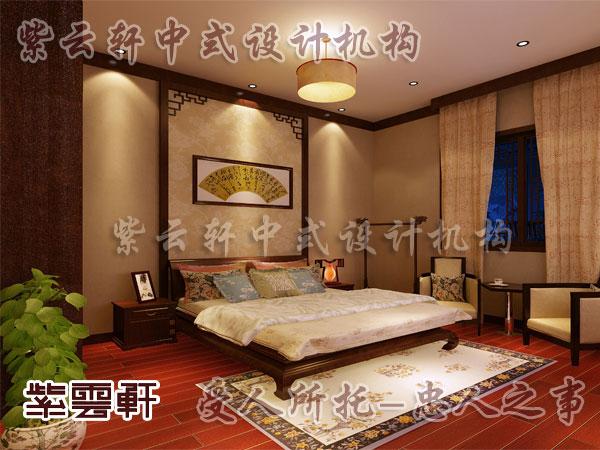 中式老人房装修效果图