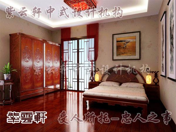 中式装修卧室效果图图片