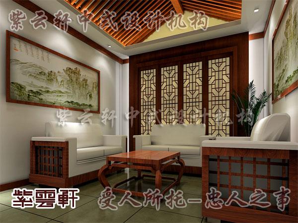 中式古典风格装修客厅效果图
