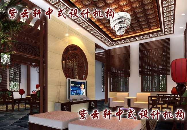 中式风格装修客厅效果图