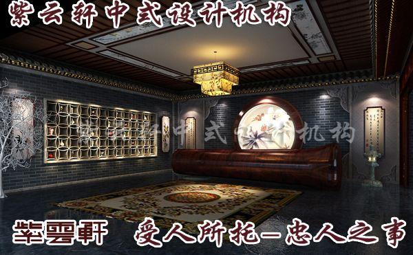 中式装修门厅效果图