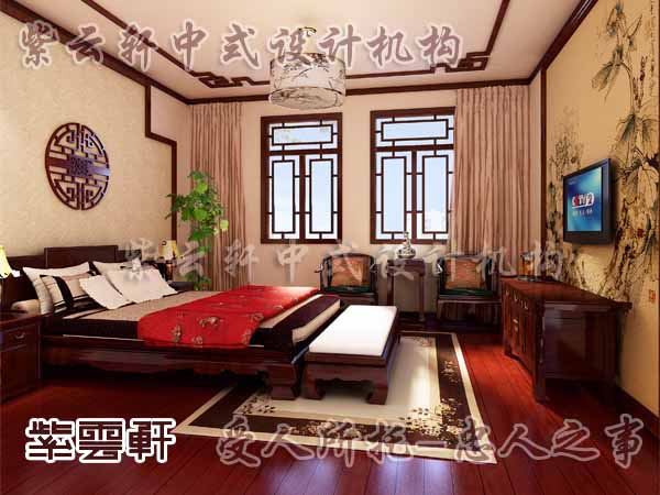 新中式风格区别于古典主义更加含蓄精雅灵性