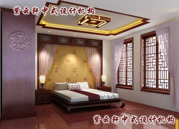 中式家装设计老人房增添更多现代元素并怀旧