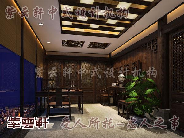中式书房设计敲掉西式壁炉摘下宫廷油画这些
