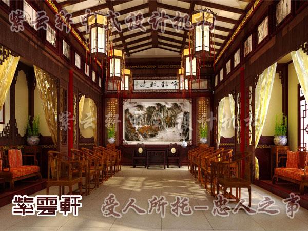 古典家具装饰搭配运用在中式设计之中