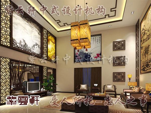中式装修DIY--墙绘美化室内空间
