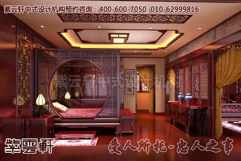 别墅主卧室的古典风格装修