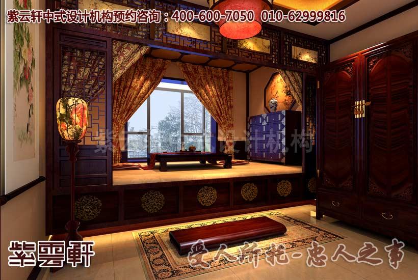 复式装修的卧室