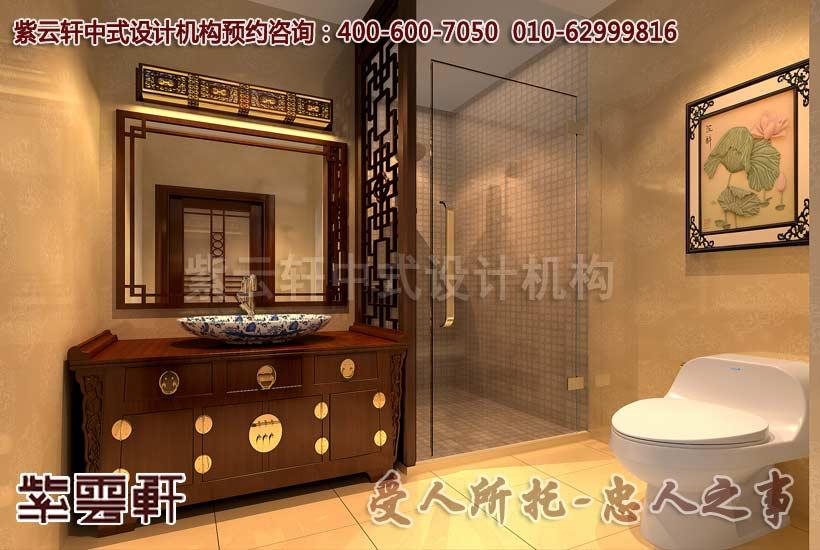 卫浴室高档装修效果图