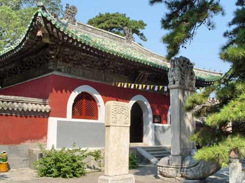 中国寺庙 佛教传统建筑之一 中式古建之美