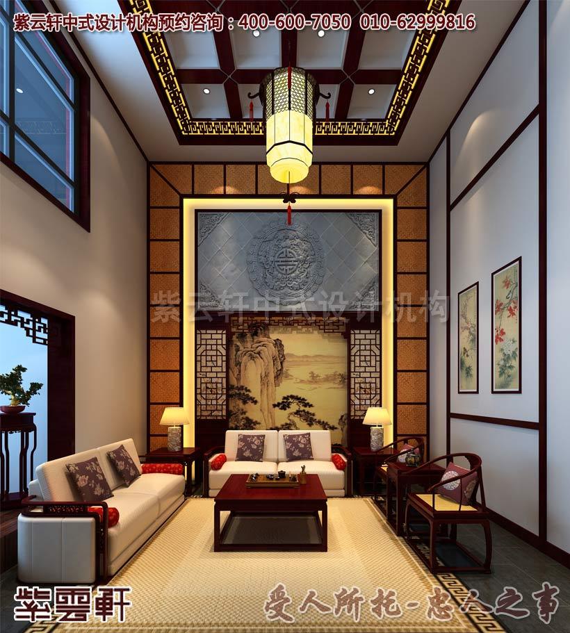 新中式风格别墅设计赏析--虔心感悟