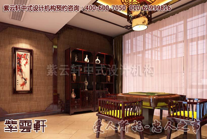 中式古典私人会所设计案例--无画处皆成妙境