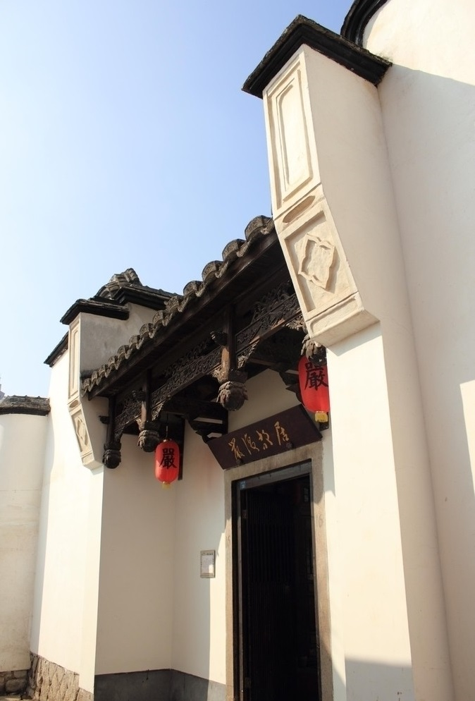 20世纪房屋门头风格